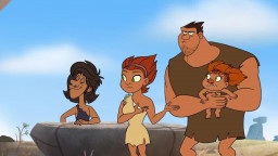 Dawn of the Croods - The Crood Who Knew Too Much / Scent of a Thunk (S01E12)(CZ)