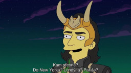 The Simpsons : The Good, the Bart, and the Loki (2021)